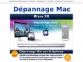  Depannage Mac, assistance reparation panne mac